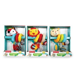 "FISHER PRICE Мека играчка животно ""СПИРАЛА ЗА ЛЕГЛО"" 201076"