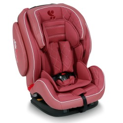 LORELLI PREMIUM Стол за кола 9-36 кг MARS+SPS ISOFIX LEATHER ROSE 1007107/1767