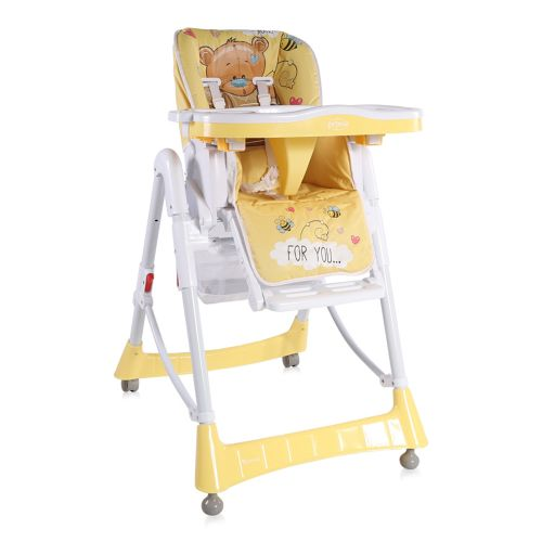 LORELLI CLASSIC Стол за хранене PRIMO YELLOW BEAR 1010005/1919 - 1