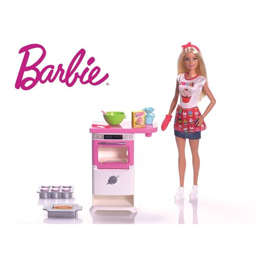 BARBIE Комплект за игра с кукла готвач I CAN BE COOKING AND BAKING FHP57 - 2