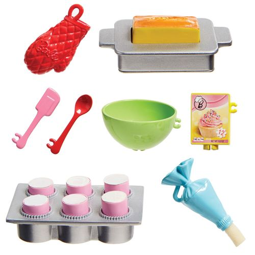 BARBIE Комплект за игра с кукла готвач I CAN BE COOKING AND BAKING FHP57 - 4
