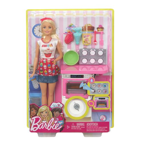 BARBIE Комплект за игра с кукла готвач I CAN BE COOKING AND BAKING FHP57 - 7
