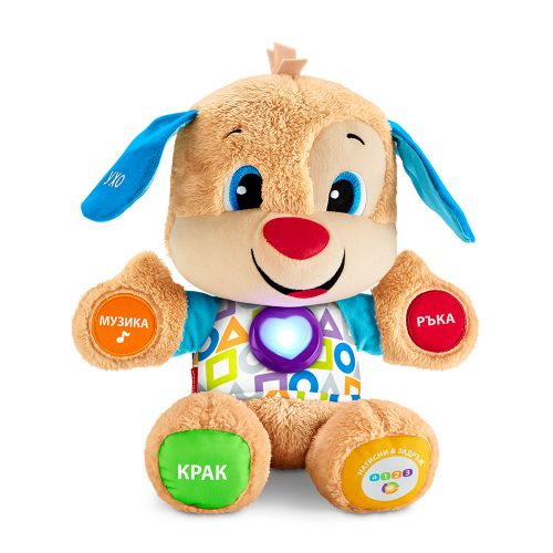 FISHER PRICE Умното плюшено кученце LAUGH&LEARN NEW FPN96 - 1