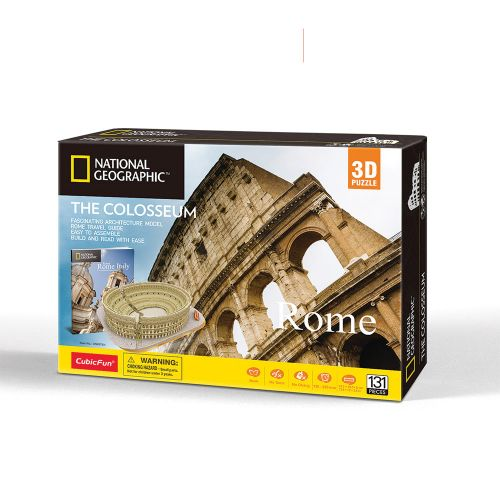 CubicFun 3D Пъзел THE COLOSSEUM NATIONAL GEOGRAPHIC DS0976h - 1