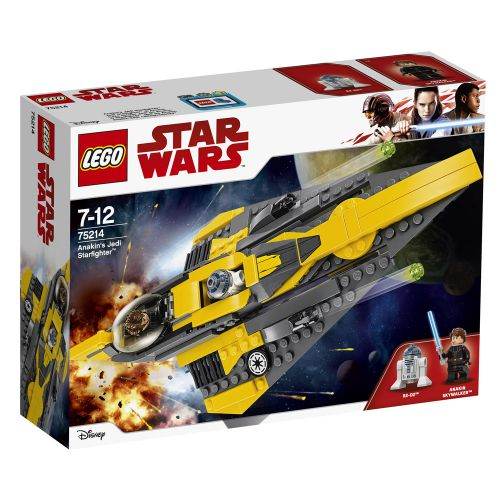LEGO STAR WARS Anakin's Jedi Starfighter™ 75214 - 1