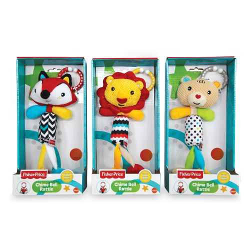 "FISHER PRICE Мека играчка животно ""КАМБАНЕН ЗВЪН"" 201070 - 1"