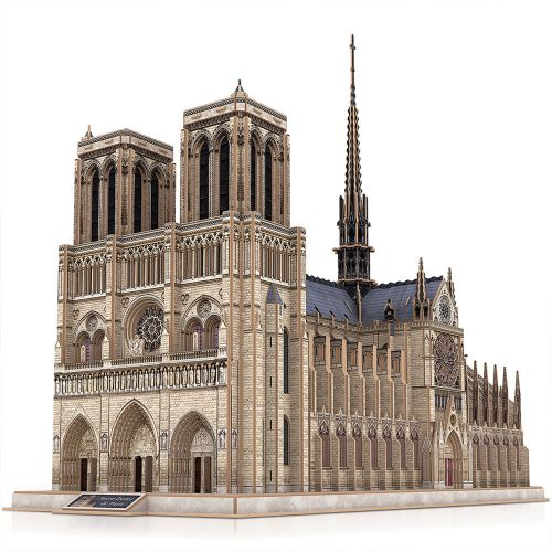 CubicFun 3D Пъзел NOTRE DAME DE PARIS MASTER COLLECTION MC260H - 3