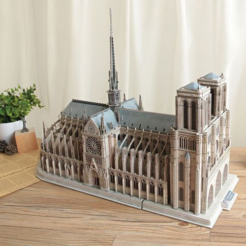 CubicFun 3D Пъзел NOTRE DAME DE PARIS MASTER COLLECTION MC260H - 5