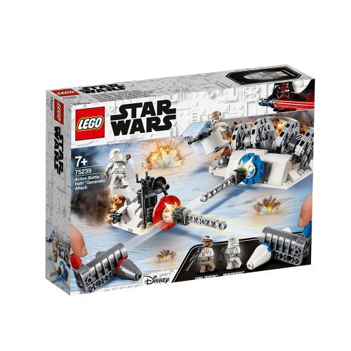LEGO STAR WARS Action Battle Hoth – атака срещу генератора 75239 - 1