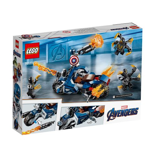 LEGO SUPER HEROES Captain America: Нападение на Outriders 76123 - 4