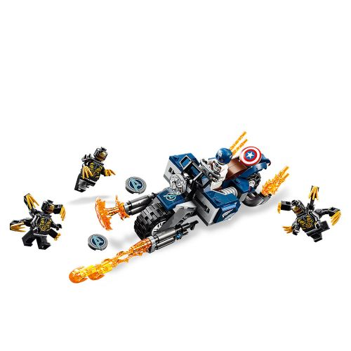 LEGO SUPER HEROES Captain America: Нападение на Outriders 76123 - 3