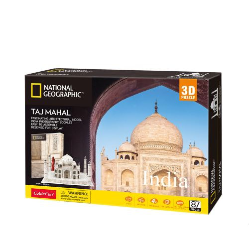 CubicFun 3D Пъзел INDIA TAJ MAHAL NATIONAL GEOGRAPHIC DS0981h - 1