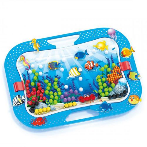 QUERCETTI Мозайка 316 части OCEAN FUN FISH AND PEGS 969 - 5