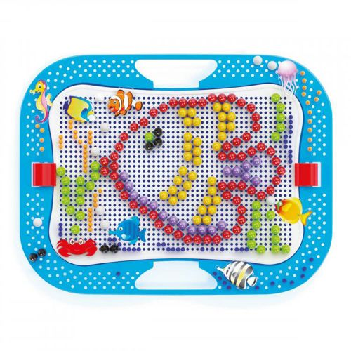 QUERCETTI Мозайка 316 части OCEAN FUN FISH AND PEGS 969 - 2