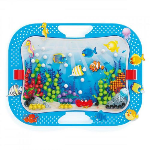 QUERCETTI Мозайка 316 части OCEAN FUN FISH AND PEGS 969 - 4