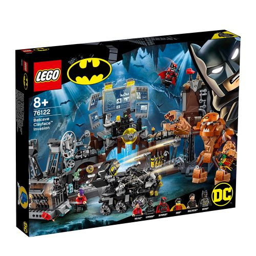 LEGO SUPER HEROES Clayface™ напада пещерата на прилепа 76122 - 1