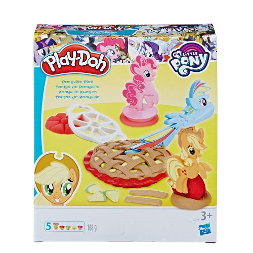 "PLAY-DOH Игрален комплект ""MY LITTLE PONY"" НАПРАВИ ПАЙ E3338 - 1"