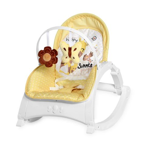 LORELLI CLASSIC Шезлонг ENJOY ZA ZA YELLOW GIRAFFE 1011011/2035 - 1