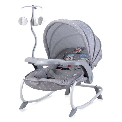 LORELLI CLASSIC Шезлонг DREAM TIME GREY ASTRONAUT 1011006/2041 - 1