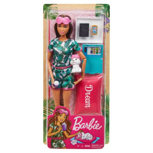 BARBIE WELLNESS Кукла с кученце на почивка GKH73 - 3