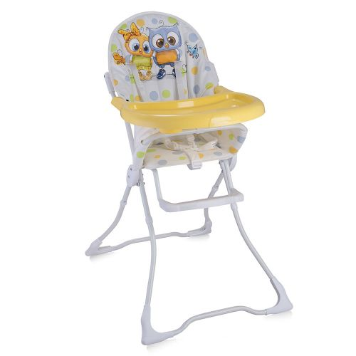 LORELLI CLASSIC Стол за хранене CANDY WHITE BABY OWLS 1010021/1710 - 1