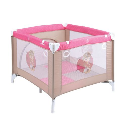 LORELLI CLASSIC Кошара за игра PLAY STATION BEIGE&ROSE PRINCESS 1008040/1703