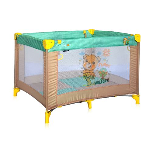 LORELLI CLASSIC Кошара за игра PLAY BEIGE&GREEN HONEY BEAR 1008005/1947 - 1