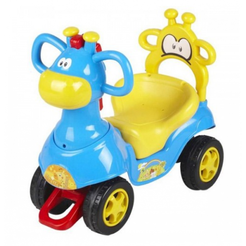 CHIPOLINO Ride-On ЖИРАФЧЕ СИН/ЖЪЛТ - 1