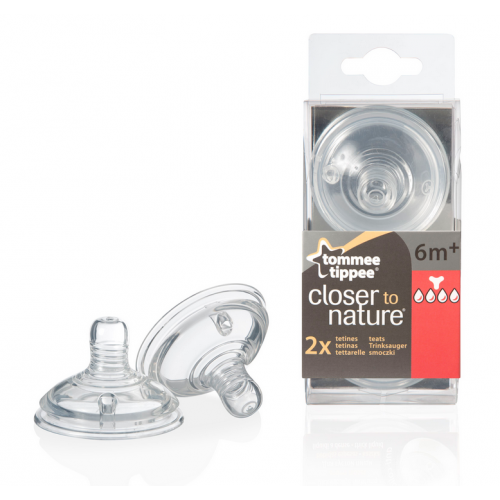 TOMMEE TIPPEE Биберон - 4 капки EASI VENT ЗВЕЗДА 42214271 - 1