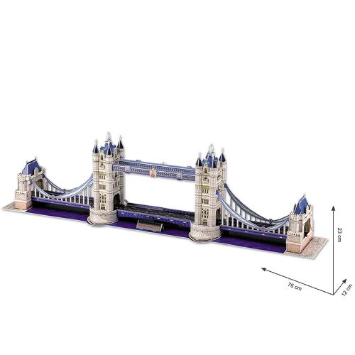 CubicFun 3D Пъзел TOWER BRIDGE MC066h - 2
