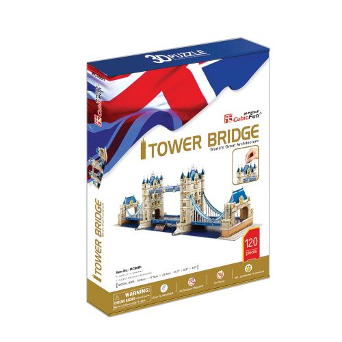 CubicFun 3D Пъзел TOWER BRIDGE MC066h - 1
