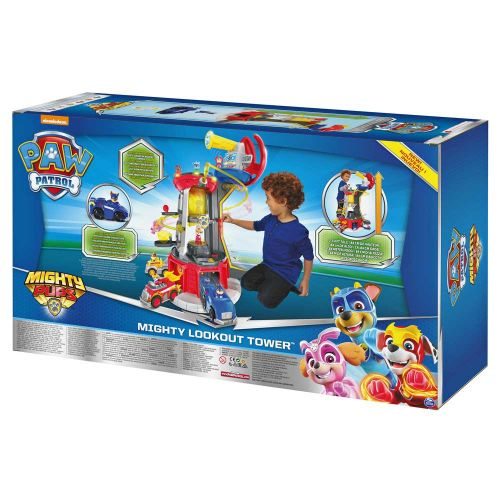 PAW PATROL Mighty Pups Кула Наблюдателница LOOKOUT TOWER 6053408 - 28