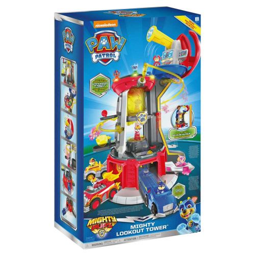 PAW PATROL Mighty Pups Кула Наблюдателница LOOKOUT TOWER 6053408 - 26