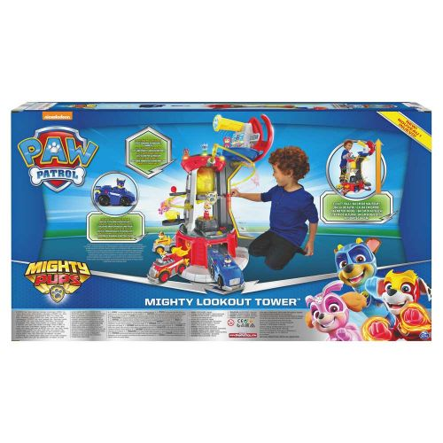 PAW PATROL Mighty Pups Кула Наблюдателница LOOKOUT TOWER 6053408 - 27