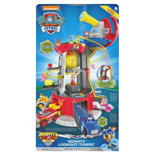PAW PATROL Mighty Pups Кула Наблюдателница LOOKOUT TOWER 6053408 - 2