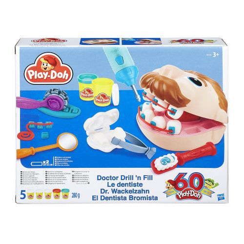 PLAY-DOH Зъболекар DR.DRILL B5520 - 1