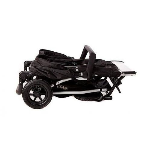 MOUNTAIN BUGGY  Количка за близнаци DUET Black&Red - 2