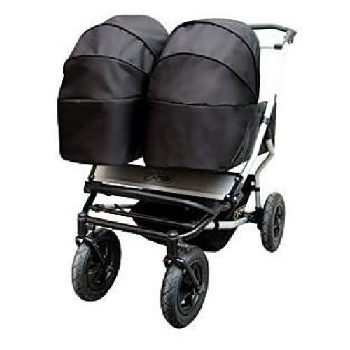 MOUNTAIN BUGGY  Количка за близнаци DUET Black&Red - 3
