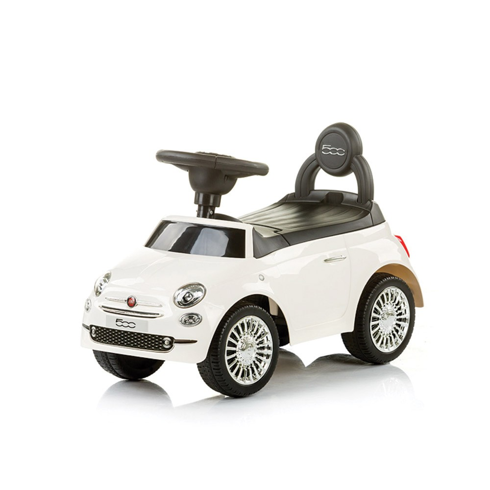 CHIPOLINO Ride-on ФИАТ 500 БЯЛ ROCFT0181WH