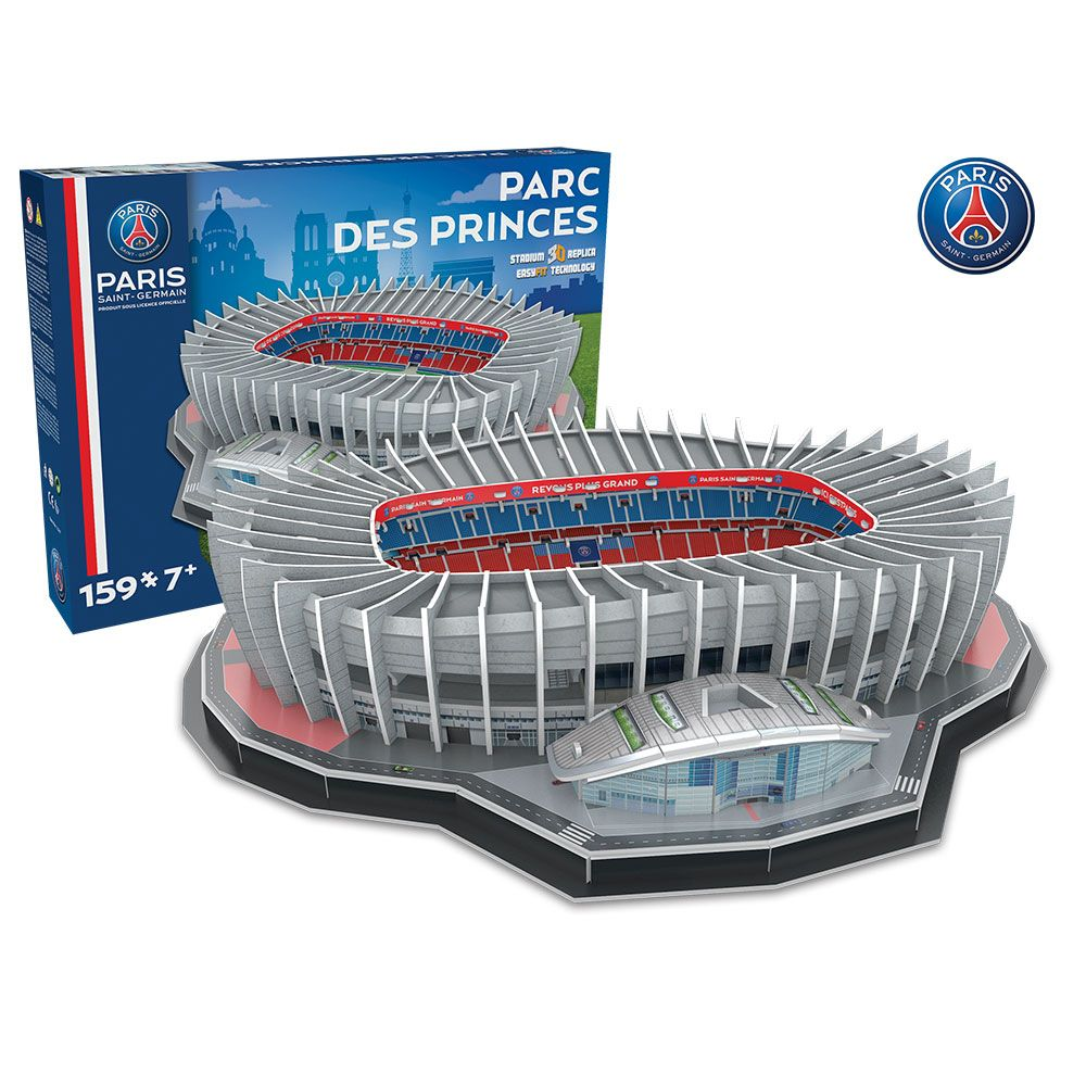 3d parc des princes psg 33001 3d. Black Bedroom Furniture Sets. Home Design Ideas