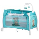 LORELLI CLASSIC Кошара 2 нива iLOUNGE ROCKER GREEN CUTE BEAR 1008002/1811