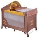 LORELLI CLASSIC Кошара на 2 нива SAN REMO ROCKER BEIGE&YELLOW HAPPY FAMILY 1008009/1803