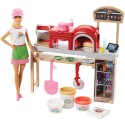 """BARBIE Комплект за игра с кукла """"ПИЦА ШЕФ"""" I CAN BE COOKING AND BAKING FHR09"""
