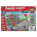 Паркинг на 4 нива с 6 колички PARKING PLAY SET 1805C388