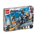 LEGO SUPER HEROES Captain America: Нападение на Outriders 76123