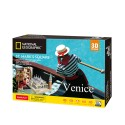 CubicFun 3D Пъзел VENICE ST MARK'S SQUARE NATIONAL GEOGRAPHIC DS0980h