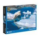 CLEMENTONI Пъзел NATIONAL GEOGRAPHIC Polar Bear