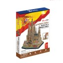 CubicFun 3D Пъзел SAGRADA FAMILIA MC153h