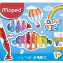 Арго Maped Maped Color'Peps Early Age Флумастери 12 цвята 9846020