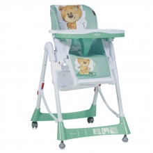 LORELLI CLASSIC Стол за хранене PRIMO GREEN CUTE BEAR 1010005/1811